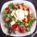 Как приготовить салат с грибами и моцареллой