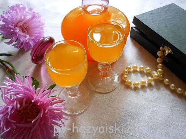 абрикосовая наливка