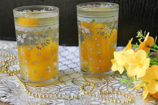 компот из желтой сливы рецепт с фото