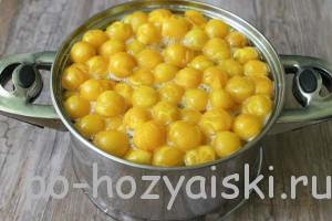 компот из желтой сливы рецепт