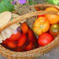Кисло-сладкие консервированные помидоры с виноградом