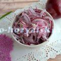 Как замариновать красный лук в уксусе, чтобы было вкусно