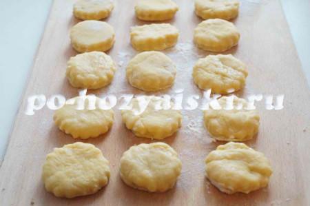 формочки печенья