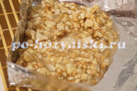 арахис в сиропе