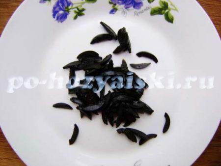 иголки из маслин