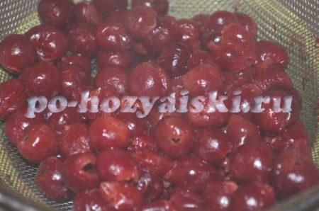 ягоды пропаренные