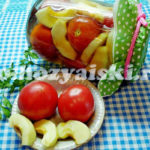 консервированные помидоры с яблоками
