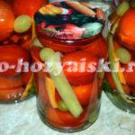 маринованные помидоры с виноградом