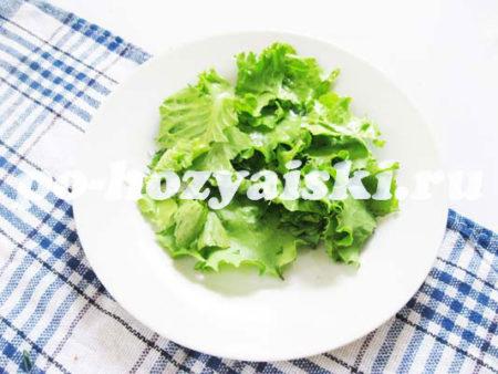 листья салата