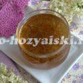 Нежное и полезное варенье из цветов бузины
