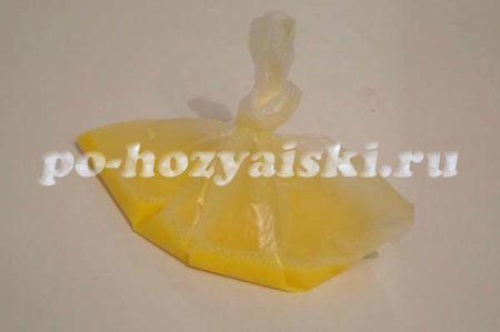 яичная масса в пакете