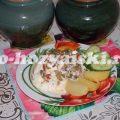 Как запечь баклажаны с грибами в горшочках