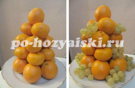 вершина из апельсина