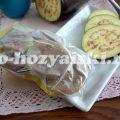 Как заморозить баклажаны на зиму, очень простой способ