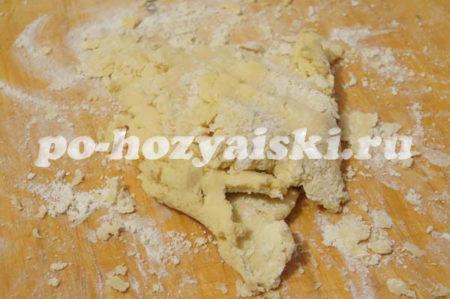 формируем тесто