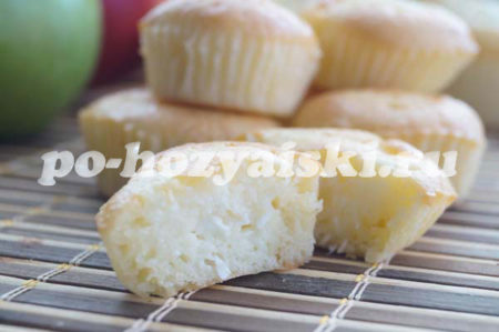 маффины с творогом рецепт с фото
