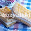 Как приготовить венские вафли в духовке в силиконовой форме и с начинкой