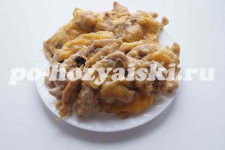 куриное филе с грибами в духовке под сыром