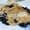 Рецепт румяных заварных блинов на кефире и на кипятке