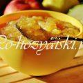 Как заготовить варенье из кабачков с яблоками