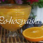 Варенье из дыни с апельсином