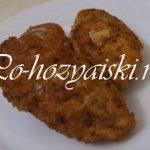 Куриные котлеты с начинкой