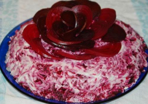 в виде розы