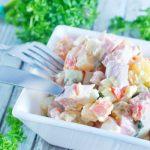 Сколько можно хранить салат Оливье