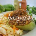 Рецепт болгарского перца, фаршированного гречкой