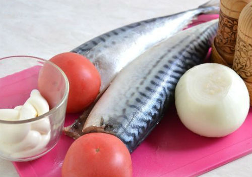 овощи и рыба