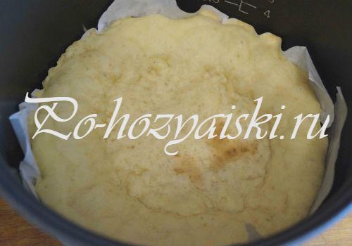 выпекаем тесто