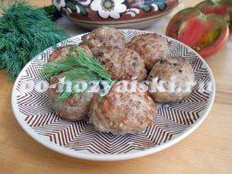 котлеты из баклажанов с мясом