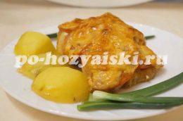 куриные бедра с сыром