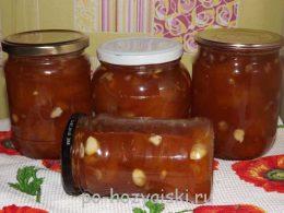 варенье из абрикосов с ядрышками